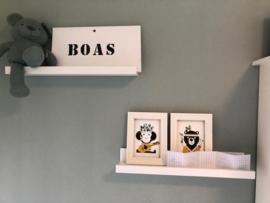 Posterset kinderkamer Boas