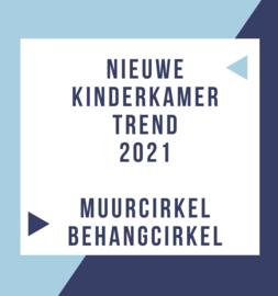 Nieuwe kinderkamer trend 2021: Muurcirkel