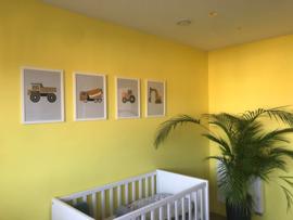 Kinderkamer geel Melissa