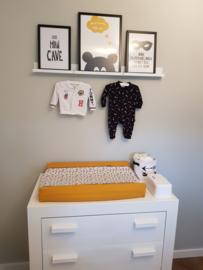 Aankleedkussenhoes babykamer Chantal