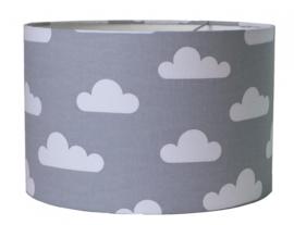 Lamp grijs met wolken