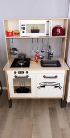 Ikea keukentje van Emma