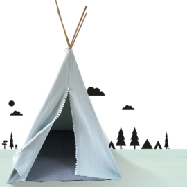 Tipi speeltent mint