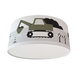 Kinderkamer plafondlamp voertuigen - olijf groen