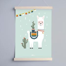 Poster kinderkamer lama