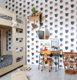 Jungle kamer behang Studio Ditte (Panthera)