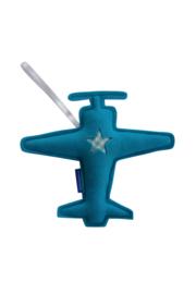 Vliegtuig hanger groot (aquablauw-mint)
