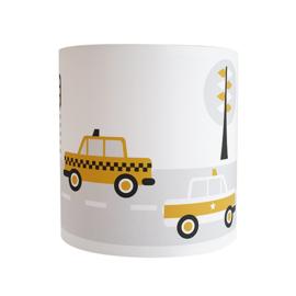 Wandlamp kinderkamer  auto voertuigen - oker geel