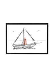 Poster boot Sinterklaas