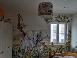 Jungle kamer van Christophe