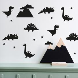 Muursticker set dino - dinosaurus kamer