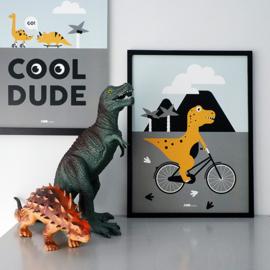 Poster Dino kamer - dinosaurus kinderkamer