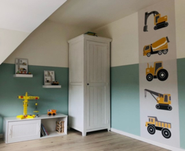 Behangstrook kinderkamer Nicky