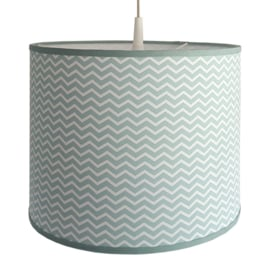 Lamp zigzag mint