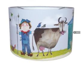 Lamp boerderij kinderkamer - Fiep Westendorp
