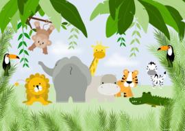 Poster jungle kamer