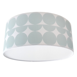 Plafondlamp stip - old green (mint)
