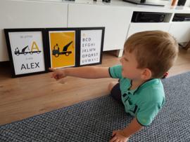 Posters voor kinderkamer Alex