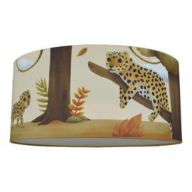 Plafondlamp jungle kamer kinderkamer - luipaard