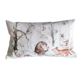 Kussen bosdieren babykamer - kinderkamer