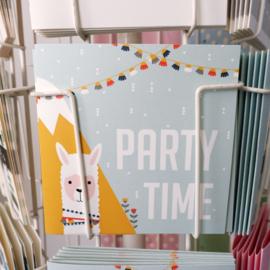 Felicitatiekaart Party time