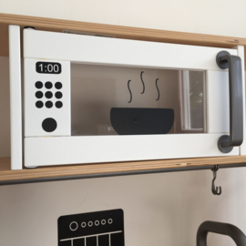 Ikea keukentje stickers magnetron