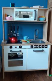 Ikea keukentje klant De Kleine Auto