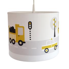 Kinderkamer lamp voertuigen - oker