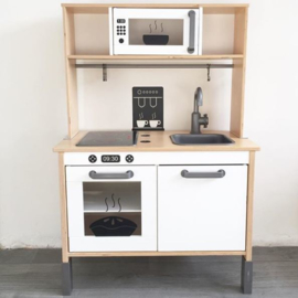 Ikea keukentje stickers magnetron + oven