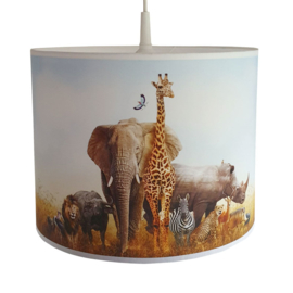 Lamp jungle kinderkamer - jungle dieren