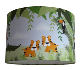 Jungle lamp voor jungle kinderkamer