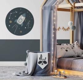 Muurcirkel - ruimtevaart kamer