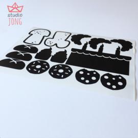 Speelwinkel stickers - bakker