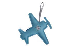 Vliegtuig hanger groot (lichtblauw-grijs)