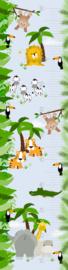Groeimeter meetlat poster jungle kinderkamer