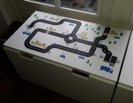 Autobaan sticky roads van Tessie
