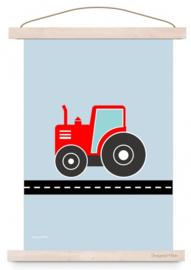 Poster jongenskamer tractor