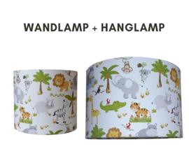 Jungle kamer lampen set kinderkamer