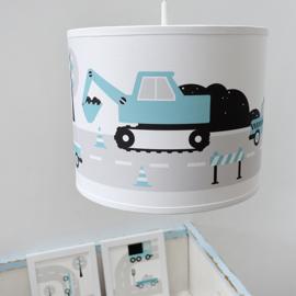 Kinderlamp voertuigen - blauw