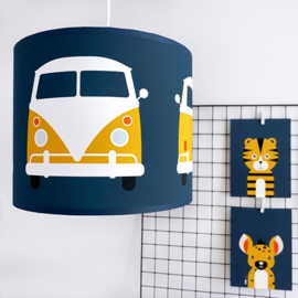 Lamp safari jungle bus kinderkamer - diverse kleuren