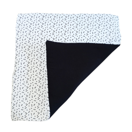 Speelkleed triangel - zwart wit