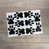 Vloer sticker dieren pootafdrukken - voetafdrukken | kinderkamer