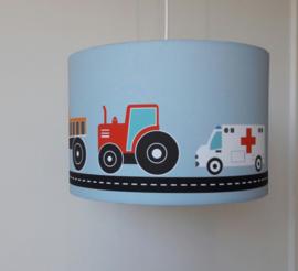 Lamp jongenskamer auto voertuigen lichtblauw