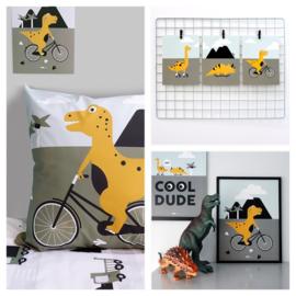Kinderkamer aankleding en decoratie set - Dinosaurus kamer