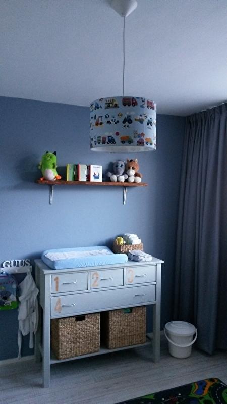 Kinderkamer van Guus
