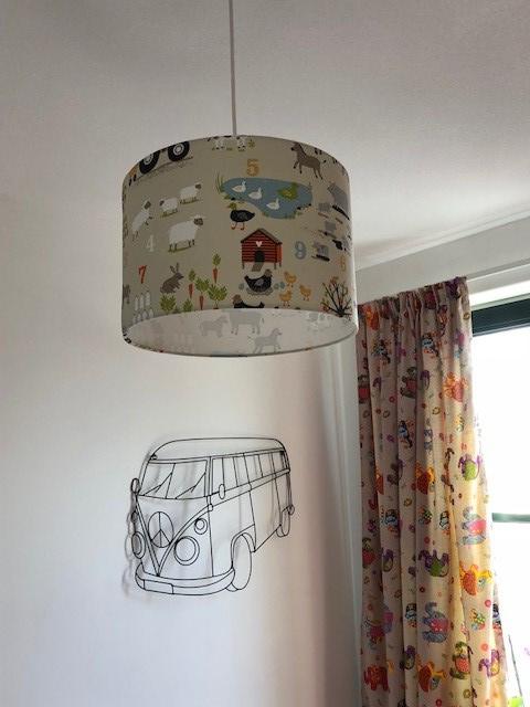 Lamp kinderkamer zoon Guido