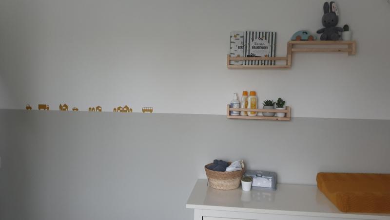 Babykamer van Anne