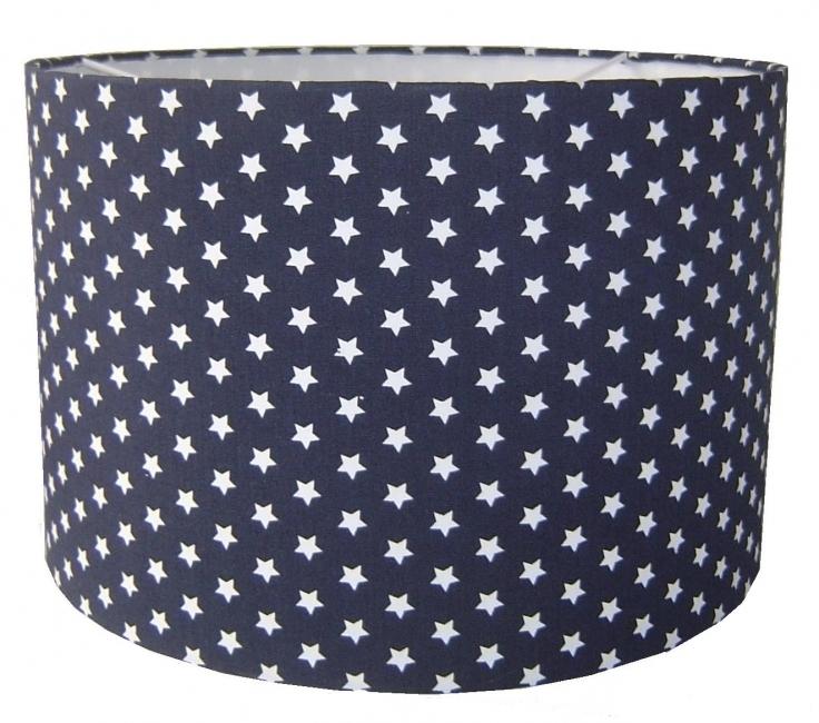 Lamp jongenskamer marine blauw met sterren