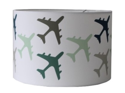 Lamp jongenskamer vliegtuigen