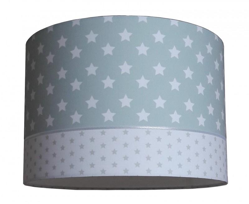 Lamp babykamer mint mintgroen met sterren